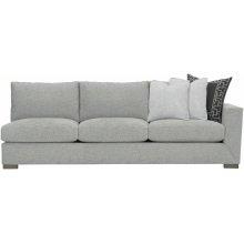 Nicolette Right Arm Sofa in Mocha (751)