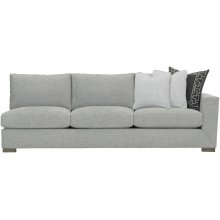 Nicolette Right Arm Sofa in Mocha (751)