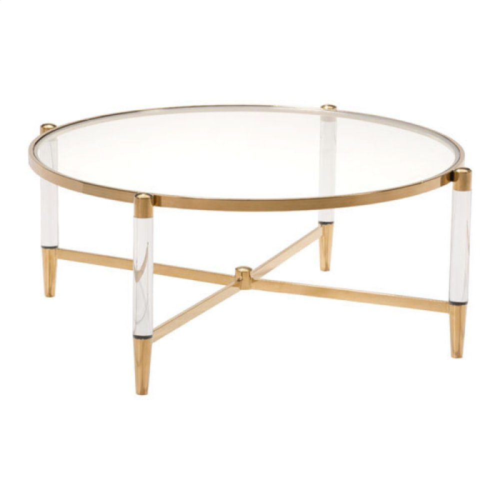 Existential Coffee Table Gold