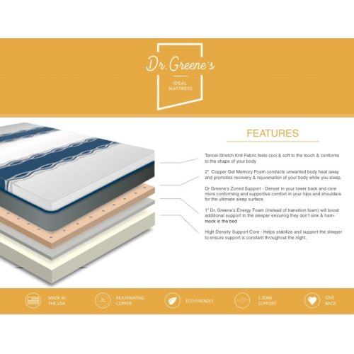 Dr Greene's - Ideal Mattress - Luxury Firm - King