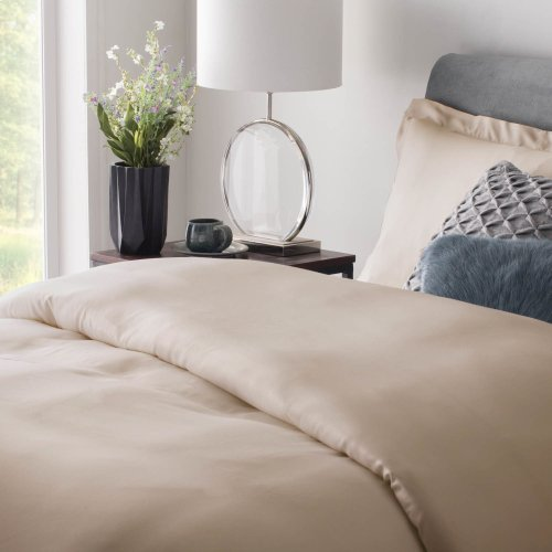 Rayon From Bamboo Duvet Set King Ivory