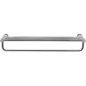 Chrome D-code Towel Shelf