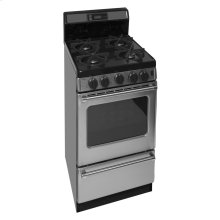 20 in. ProSeries Freestanding Sealed Burner Gas Range in Stainless Steel