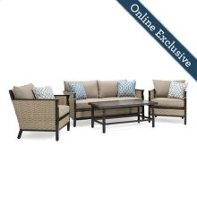 Colton 4pc Patio Furniture Set