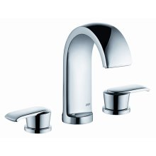 Widespread Lav Faucet in Polished Chrome