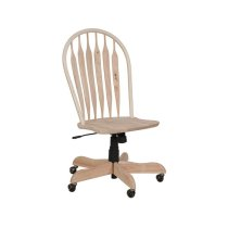 Deluxe Steambent Windsor Desk Chair Product Image