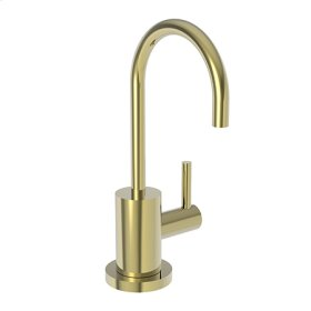 Uncoated Polished Brass - Living Cold Water Dispenser