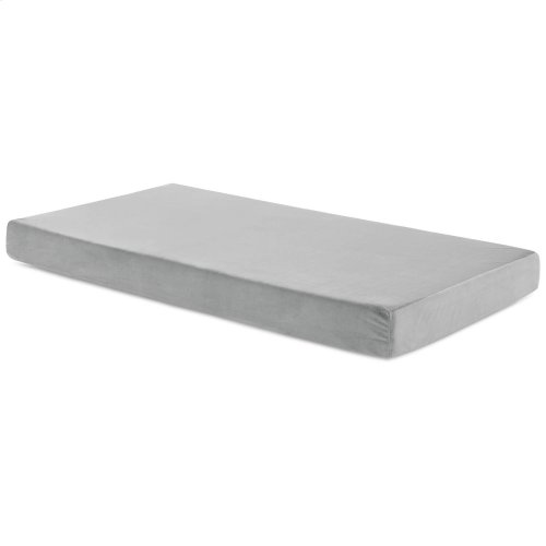 Brighton Bed Youth Gel Memory Foam Mattress Full Grey