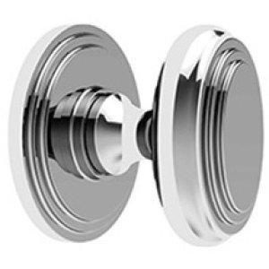 Polished Nickel Bathroom thumb turn, concealed fix