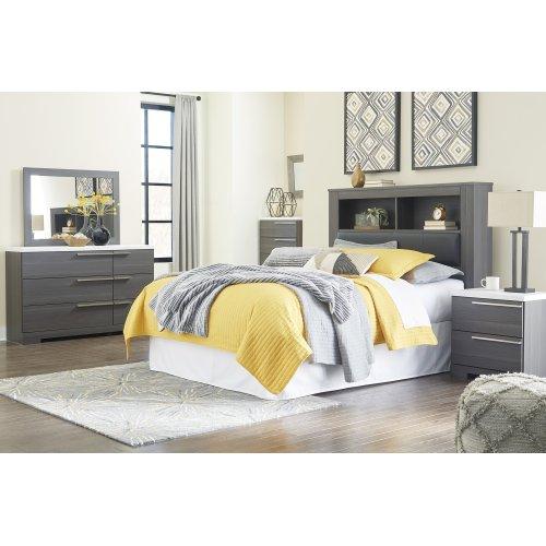 Foxvale - Gray/White 2 Piece Bedroom Set
