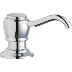 "Elkay 2"" x 4-1/2"" x 1-3/4"" Soap / Lotion Dispenser, Chrome (CR) Product Image"