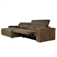 Davis Recliner Sectional w/ LAF Chaise