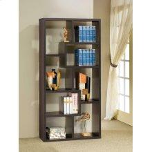 Cappuccino Modular Bookcase