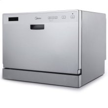 6-Place Setting Countertop Dishwasher - Stainless Steel