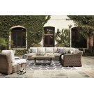 Beachcroft - Beige 5 Piece Patio Set Product Image