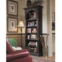 Home Office Black Bookcase Product Image