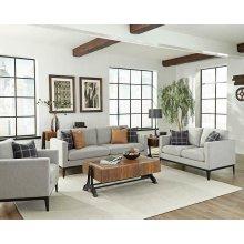 Asherton Modern Grey Sofa