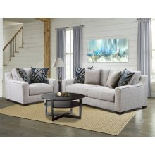 1400 - Homespun Platinum Sofa