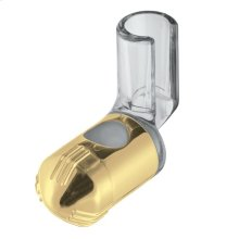 Polished Brass Unica Wallbar E Slider