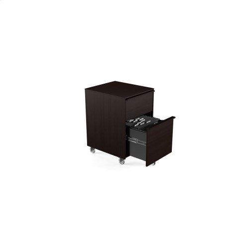 Mobile File Pedestal 6207 in Espresso