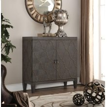 LIGHT BLACK CONSOLE TABLE