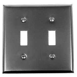 Switch Plate, Two Toggle