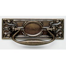 While supplies last! Please choose carefully, as all sales on these items are final. Please read Outlet Terms & Conditions and Privacy Policy . Decorative Drop Pull in SB (Shaded Bronze, Lacquered)