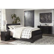 Huey Vineyard - Black 3 Piece Bed Set (Queen)