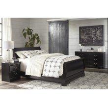 Huey Vineyard - Black 3 Piece Bed Set (Queen)