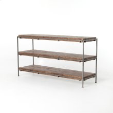 Gunmetal Finish Simien Media Console