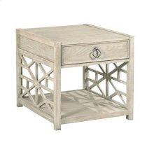 Vista Biscane Drawer End Table