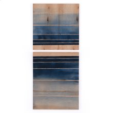 Deep End Diptych By Jess Engle Wood Box