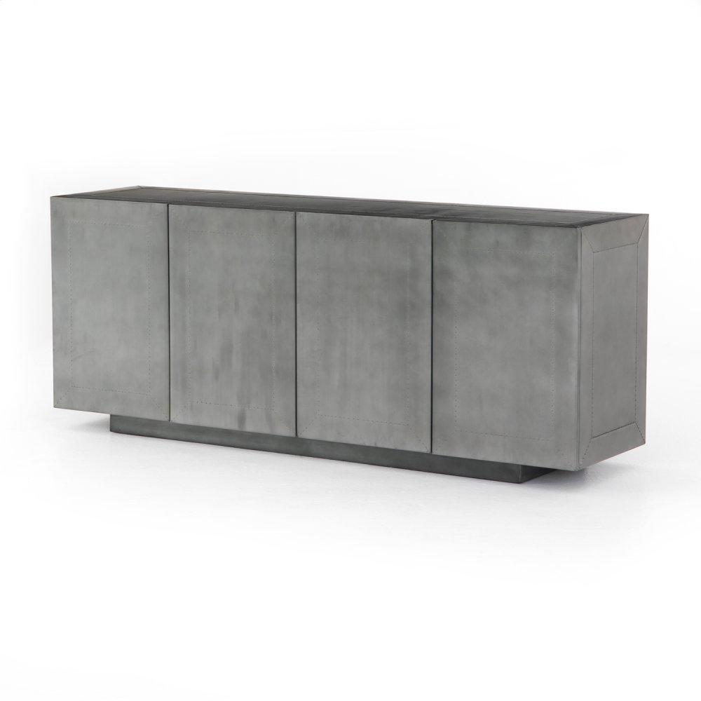Aged Aluminum Finish Freda Sideboard