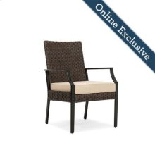 Addyson Woven Cushioned Stationary Dining Chair 4 Pack