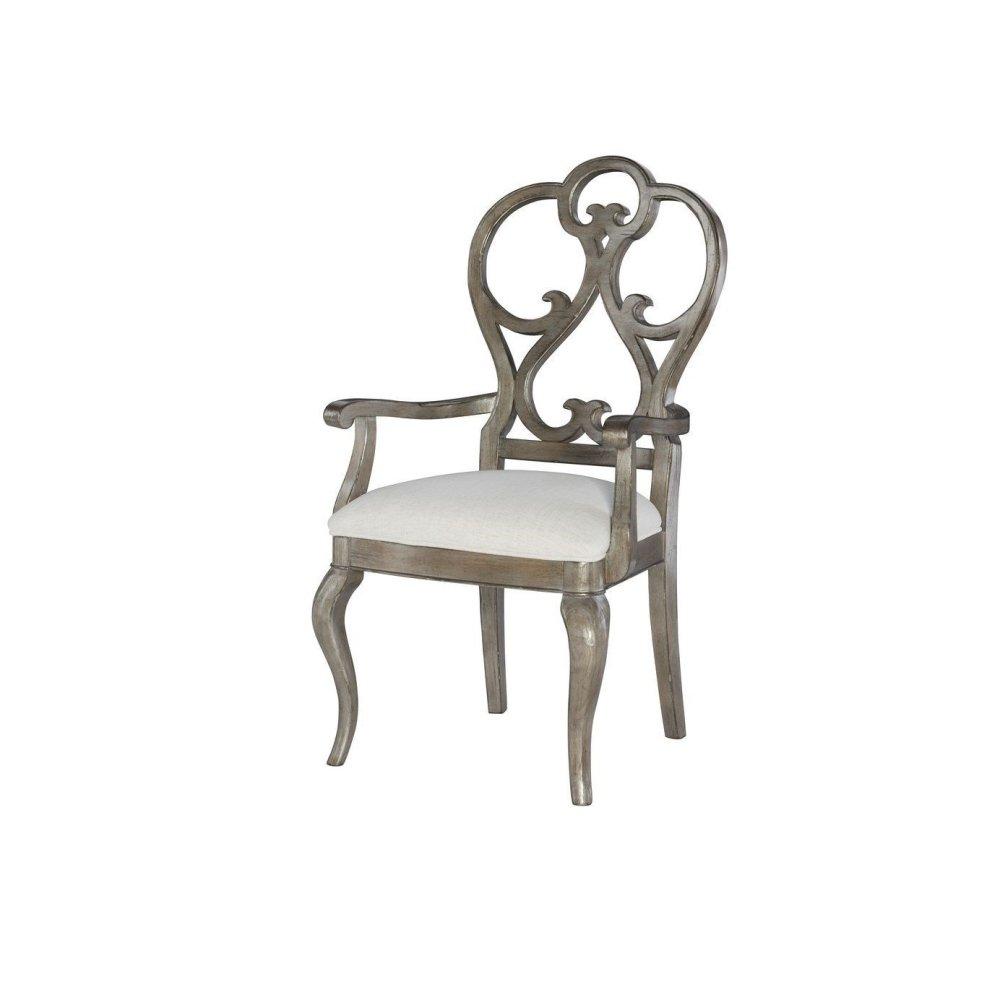 Scroll Arm Chair