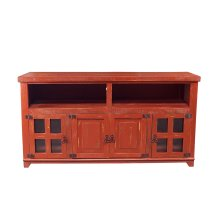 "Marfa Red 60"" TV Stand"