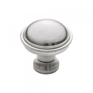 Purity Knob 1 1/8 Inch Brushed Satin Nickel Product Image