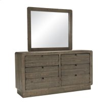 Dresser \u0026 Mirror - Mocha Finish
