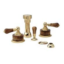 VERSAILLES Four Hole Bidet Set K4241 - Polished Brass