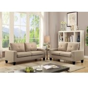 PLATINUM IIBEIGE SOFA/LOVESEAT Product Image