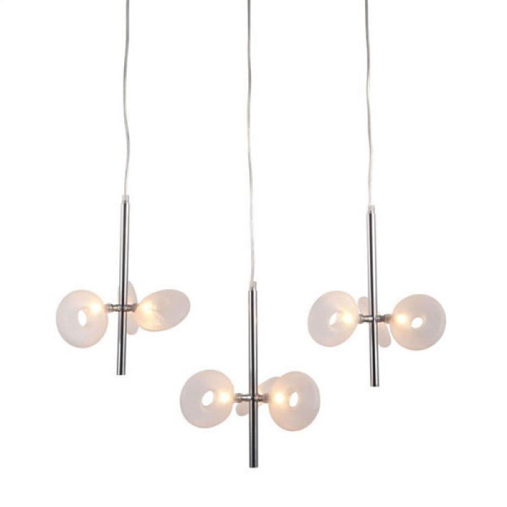Twinkler Ceiling Lamp Chrome