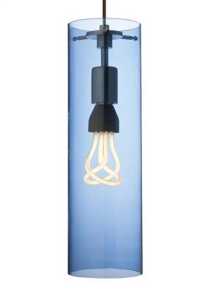 Steel Blue Beacon Pendant Product Image
