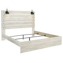 Cambeck - Whitewash 3 Piece Bed Set (King)