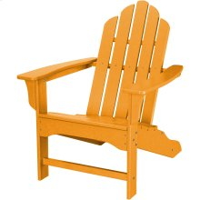All-Weather Contoured Adirondack Chair - Tangerine