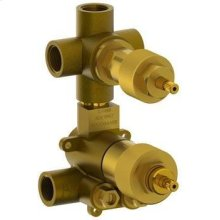"""1/2"""" Thermostatic Valve With Built-in Volume Control and 3-way Diverter"""
