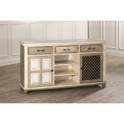 Larose Two Door Console Table With Removable Wine Rack Product Image