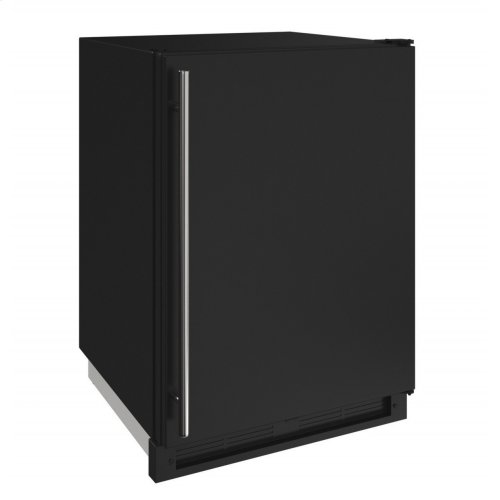 """1000 Series 24"""" Convertible Freezer With Black Solid Finish and Field Reversible Door Swing (115 Volts / 60 Hz)"""