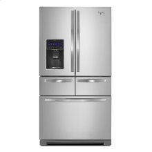 Whirlpool® 36-inch Wide Double Drawer Refrigerator with Temperature Controlled Drawer - 26 cu. ft.