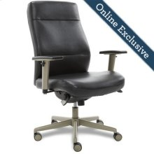 Baylor Executive Office Chair, Black