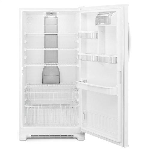 Whirlpool® 20 cu. ft. Upright Freezer with Temperature Alarm